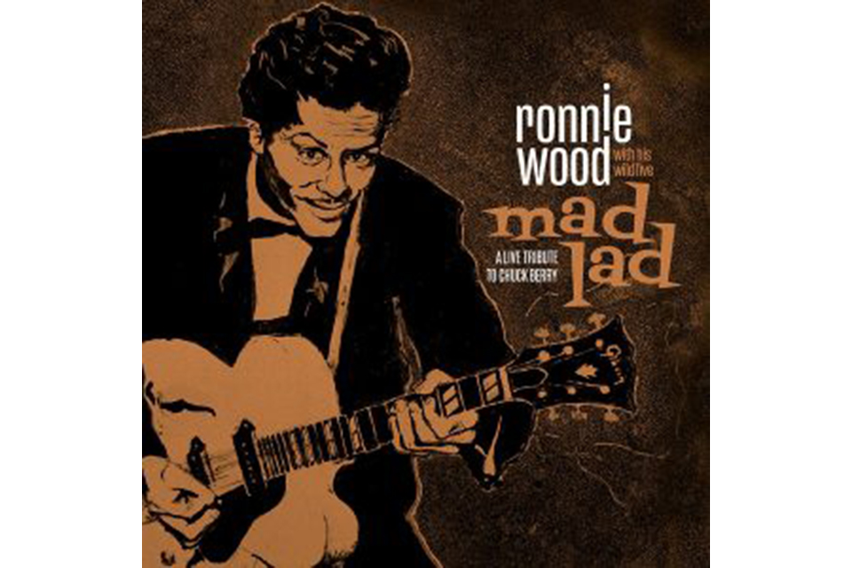 ロニー・ウッドがチャック・ベリーのトリビュート・アルバムをリリース