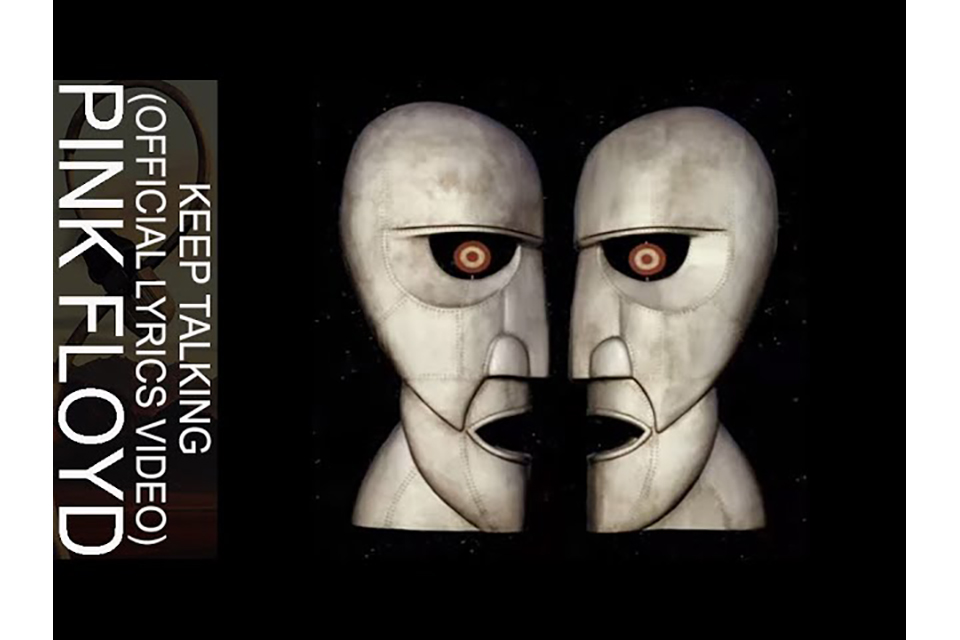 ピンク・フロイド1994年の「Keep Talking」、オフィシャル・リリック・ビデオ公開