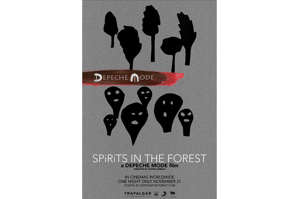 デペッシュ・モードのコンサート映画「Spirits In The Forest」、11月に一夜限りの上映