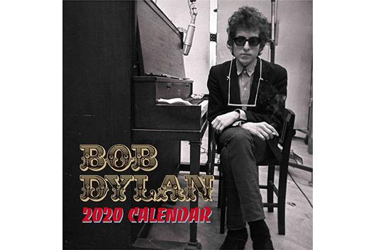 世界のディラン・ファンを魅了!『ボブ・ディラン 日めくり・リリック・カレンダー』2020年版発売!