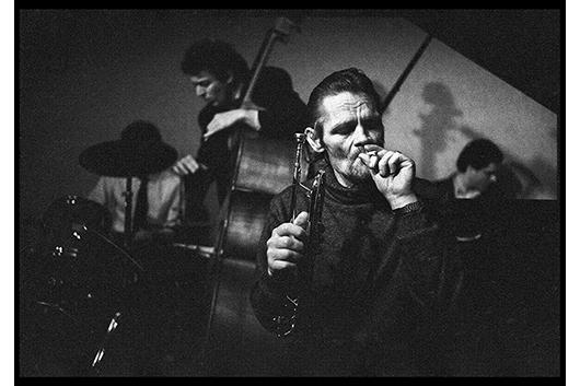 チェット・ベイカーの晩年を撮影したフランス人写真家・ベートランド・フェブレの写真展開催中