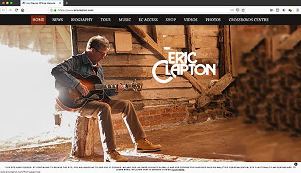 エリック・クラプトンが2020年のヨーロッパ・ツアーを発表