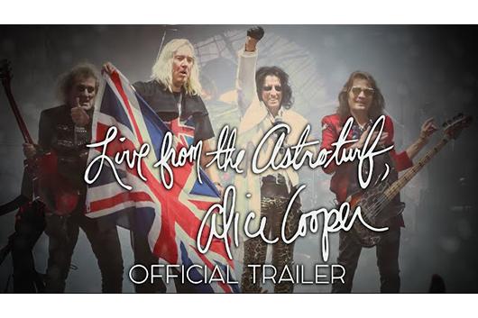 オリジナル・アリス・クーパー・バンドのドキュメンタリー映画がロンドンで初上映、トレーラー映像公開