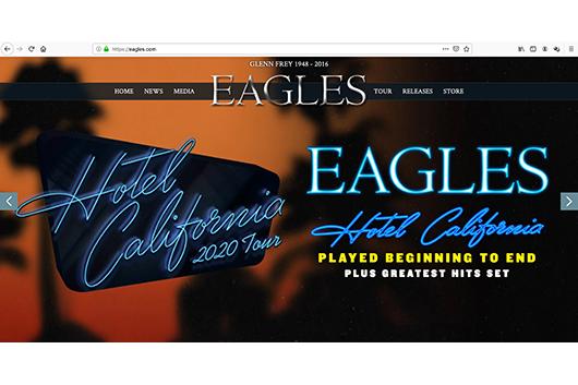 イーグルスが2020年の「ホテル・カリフォルニア」ツアーを発表
