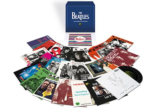 ザ・ビートルズが最新リマスター音源の完全限定盤7インチ・ヴィニール・シングル・コレクションを発売