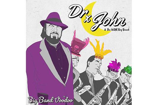 故ドクター・ジョンがビッグ・バンドとコラボしたアルバム『Big Band Voodoo』11月発売