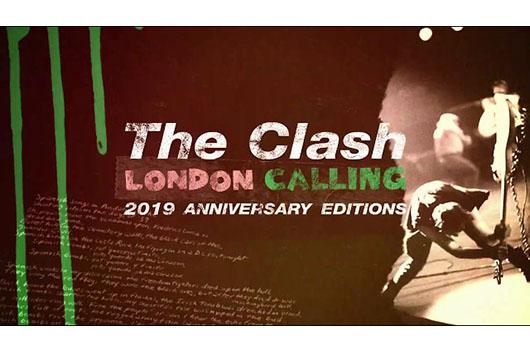 ザ・クラッシュ『ロンドン・コーリング40周年記念盤』11月15日全世界同時発売決定!  アナログは日本のみクリア・ヴァイナルでのリリース!