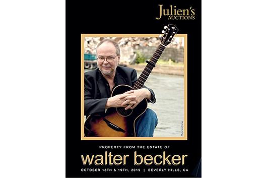 故ウォルター・ベッカーのギターやアンプが総額330万ドルで落札