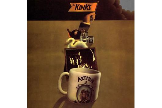 キンクスのアルバム『アーサー、もしくは大英帝国の衰退ならびに滅亡』50周年記念再発各種、本日発売!