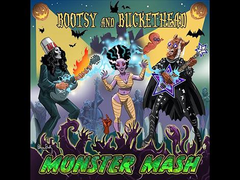 ブーツィー・コリンズとバケットヘッドがコラボした「Monster Mash」のMV公開