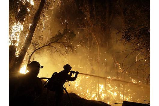 メタリカ、カリフォルニア州の山火事救済支援に10万ドルを寄付