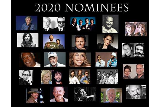 2020年「ソングライターの殿堂」入り候補アーティスト発表