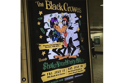 ブラック・クロウズが2020年の再結成コンサートを発表