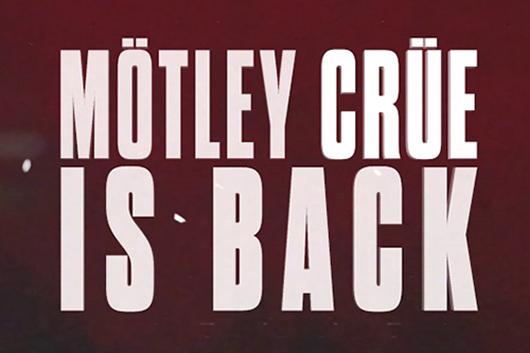 モトリー・クルーが正式に復活を発表するビデオを公開