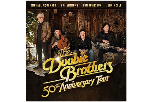 ドゥービー・ブラザーズ 50周年記念ツアーにマイケル・マクドナルドが参加
