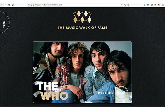 ロンドンにも「ミュージック・ウォーク・オブ・フェイム」が誕生、名を刻まれた初のスターはザ・フー