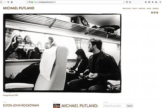 ロック・フォトグラファーのマイケル・プットランドが72歳で死去