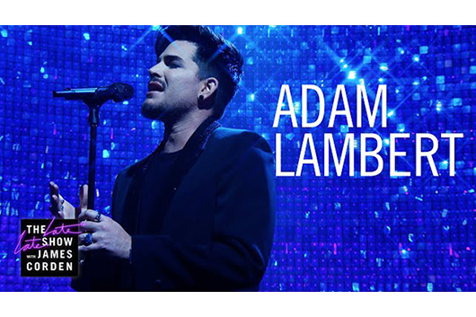 アダム・ランバート、米テレビ番組で「Closer to You」をライヴ・パフォーマンス