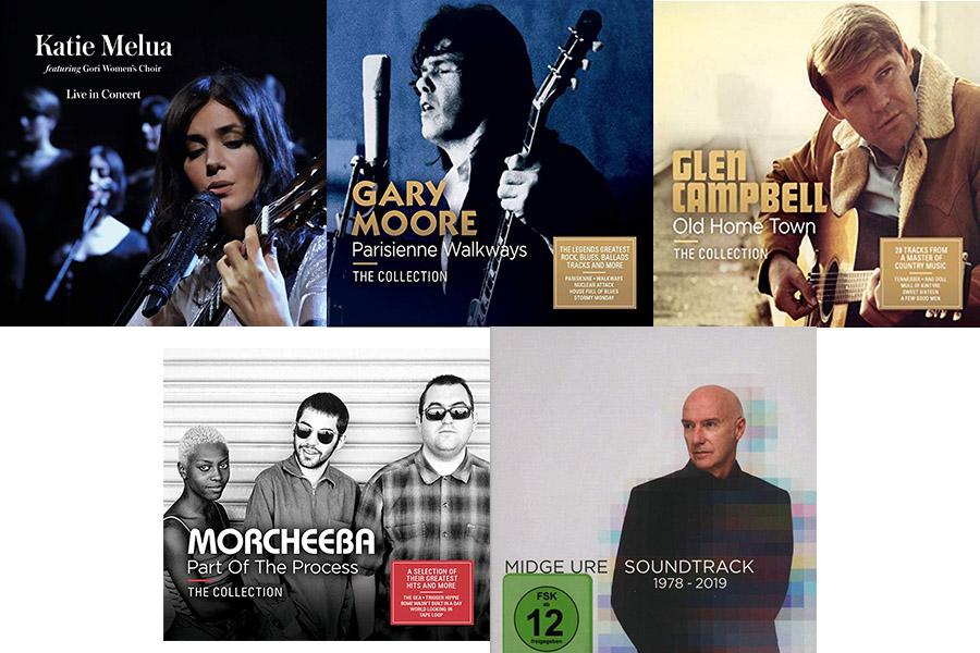 ケイティ・メルア、2枚組ベスト盤シリーズ、ミッジ・ユーロのシングル集等々、今週の要注目のワーナー輸入盤情報!