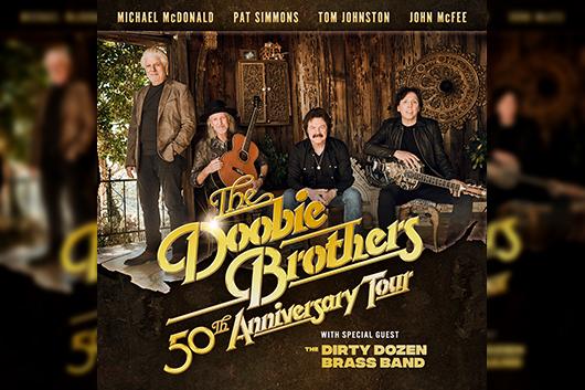 ドゥービー・ブラザーズ、結成50周年記念ツアーの追加公演を発表