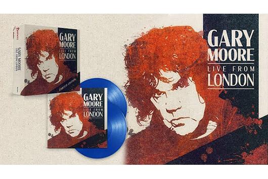 ゲイリー・ムーアのライヴ・アルバム『Live From London』、2020年1月発売