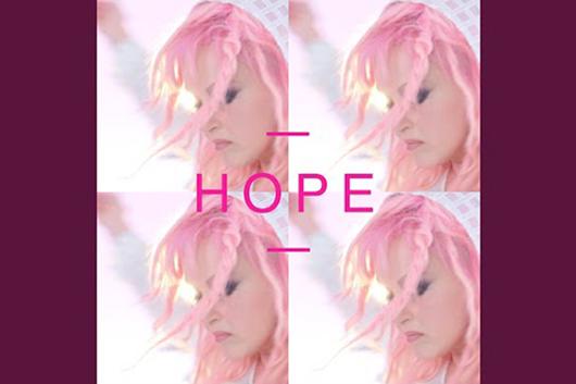 シンディ・ローパー、シングル「Hope」をオフィシャル・リリース