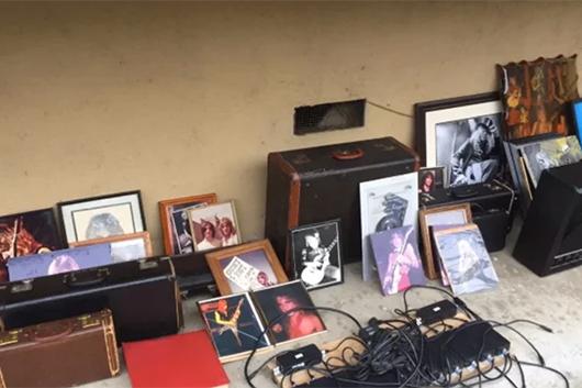 盗まれたランディ・ローズの遺品、ノース・ハリウッドのゴミ収集箱から発見