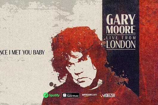 ゲイリー・ムーアのライヴ・アルバムから「Since I Met You Baby」が視聴可能