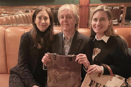 ポール・マッカートニーがリンガ・フランカとコラボしたカシミア・セーター発売