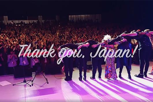 シンディ・ローパー、ファンへの感謝を込めた10月の日本ツアーの記録動画『Thank you, Japan!』をSNSで公開