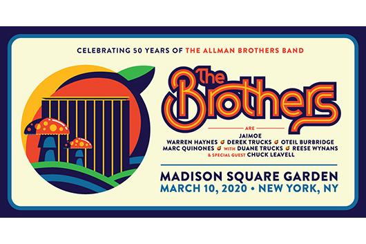 オールマン・ブラザーズ・バンド、50周年記念コンサート開催