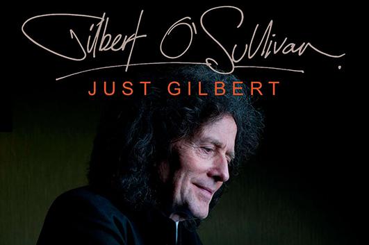 ギルバート・オサリヴァンが2020年のツアー日程を発表、5月には日本公演も