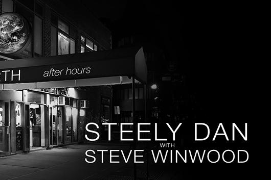 スティーリー・ダンとスティーヴ・ウィンウッドが北米ジョイント・ツアーを発表