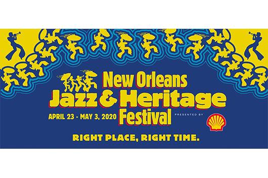 2020年「ニューオーリンズ・ジャズ・フェスティバル」のラインナップ発表