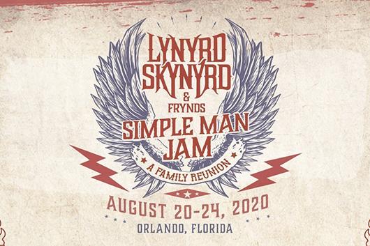 レーナード・スキナード主催の音楽イベント「Simple Man Jam」、出演者発表