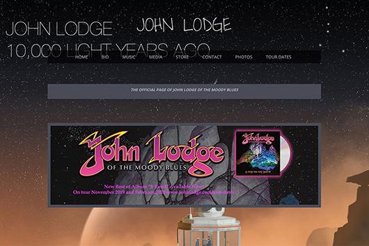 ムーディー・ブルースのジョン・ロッジが2020年のツアー日程を発表