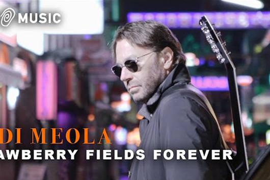 ギタリストのアル・ディ・メオラ、ビートルズのトリビュート・アルバム第2弾をリリース