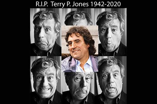 モンティ・パイソンのテリー・ジョーンズが77歳で死去