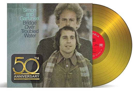 サイモン&ガーファンクルの『明日に架ける橋』、50周年記念ゴールド・ヴァイナル発売