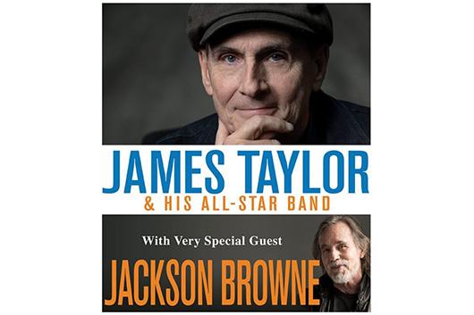 ジェイムス・テイラーがジャクソン・ブラウンとのUSアリーナ・ツアーを発表