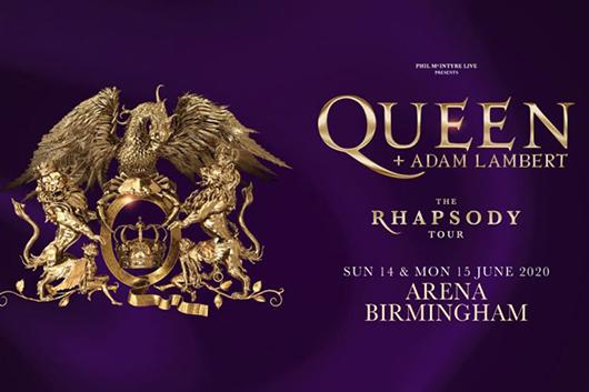 クイーン+アダム・ランバート、UKツアーに2公演追加