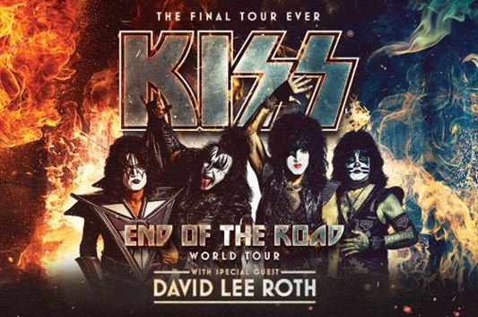 KISSとデヴィッド・リー・ロスの「End of the Road」ツアーがスタート