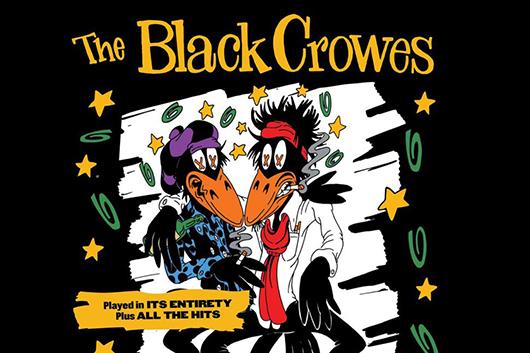 ブラック・クロウズがUK/ヨーロッパ・ツアーを発表