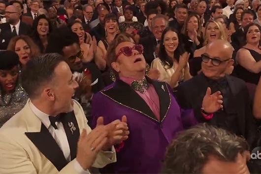 エルトン・ジョン、映画『ロケットマン』の主題歌でアカデミー賞歌曲賞を受賞