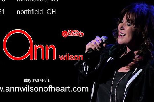 ハートのアン・ウィルソンがソロ・ツアーを発表