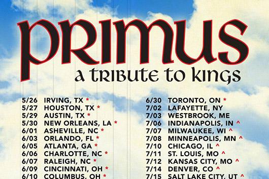 プライマスがラッシュのアルバムをカヴァーする北米ツアーを発表