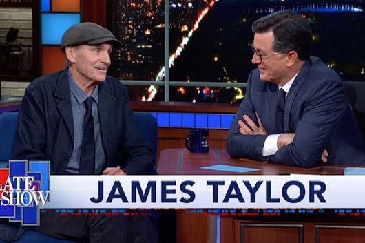 ジェイムス・テイラー、新作から新たに「ゴッド・ブレス・ザ・チャイルド」が解禁。TV番組に出演、アップル時代についても語る