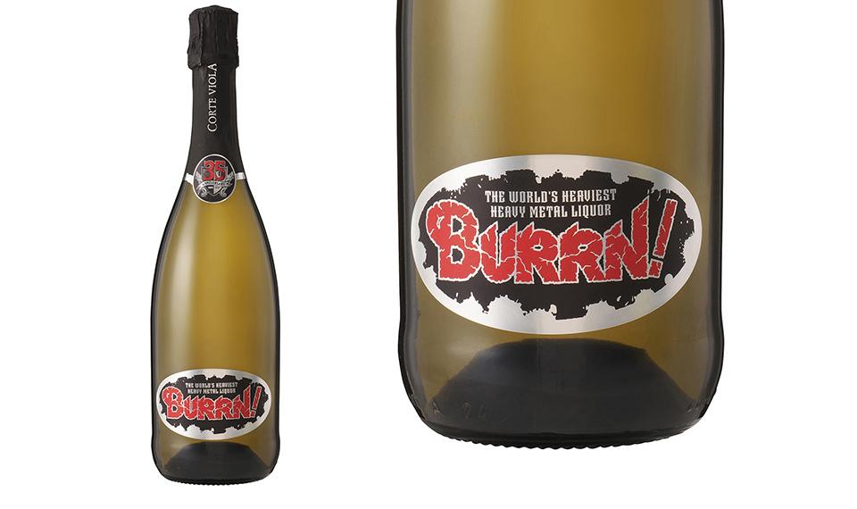 BURRN!創刊35周年記念、2か月連続オリジナル・リカー・コラボ企画第2弾!!  BURRN! オリジナル・スパークリングワイン販売決定!
