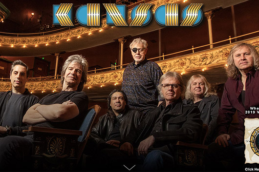 カンサスが4年ぶりのニュー・アルバムをリリース