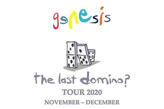 ジェネシスがUK/アイルランド・ツアー「The Last Domino?」を正式発表